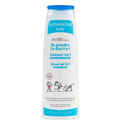 gel de ducha para niños ecológico