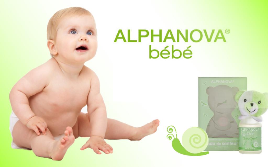 cosmética ecológica para bebés Alphanova