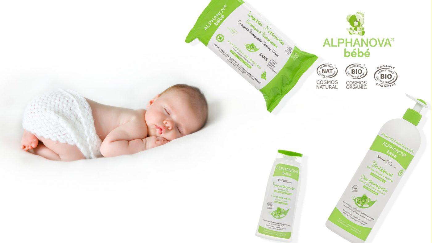 cosmética bio para bebé Alphanova
