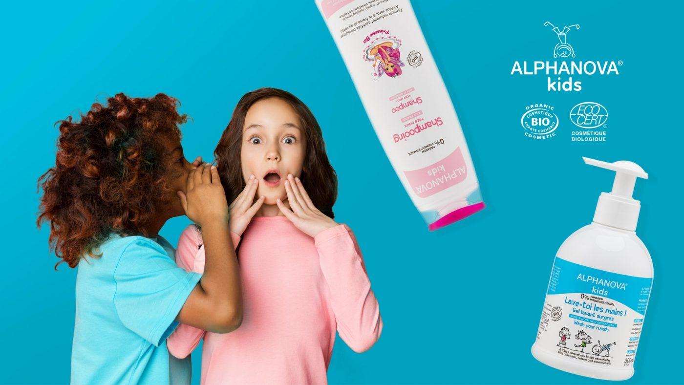 cosmética bio para niños Alphanova